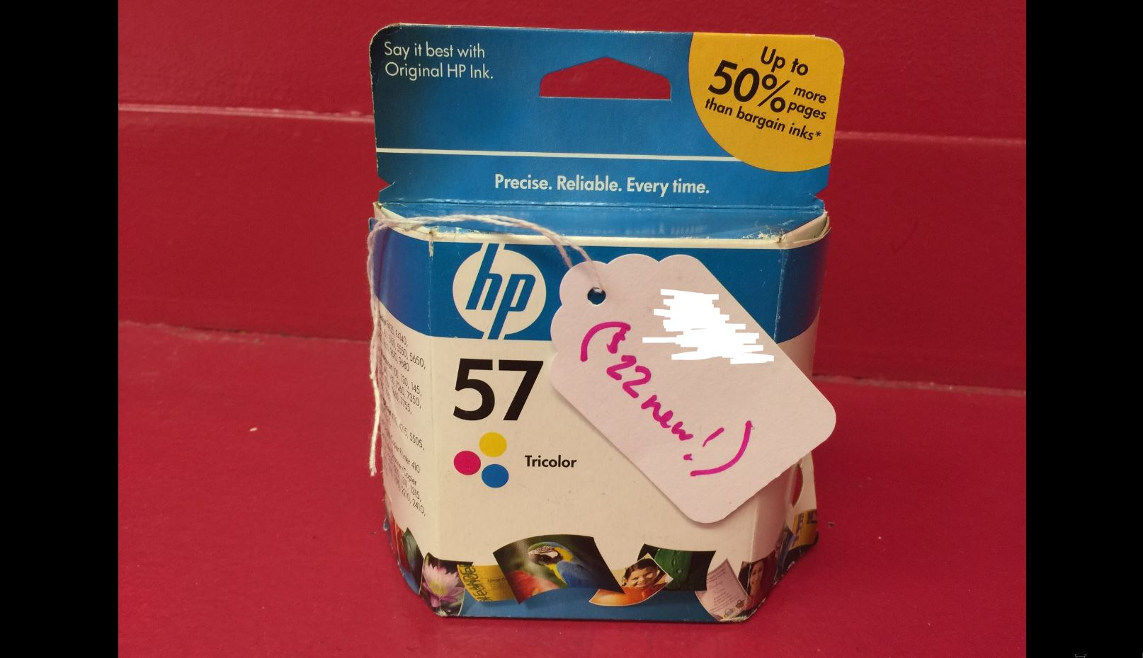 HP 57 Tri-color Printer ink