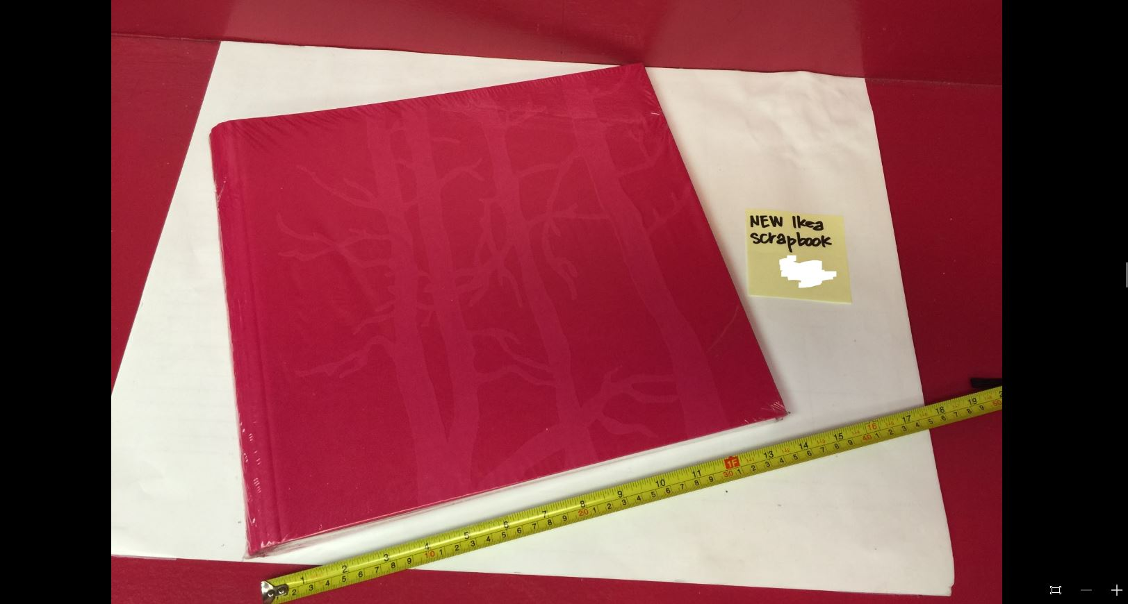 New IKEA Scrapbook, pink
